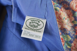 True Vintage Laura Ashley Dress, Made in Great Britain
