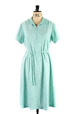 True vintgae dress with 1960s Peter Pan collar