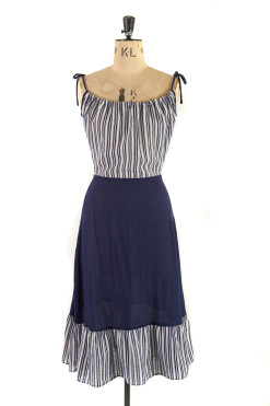 Vintage Sailor Dress by Zanie at Margot and Hesse