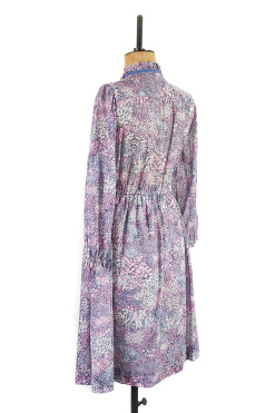 Lavender Floral Dress by Margot & Hesse