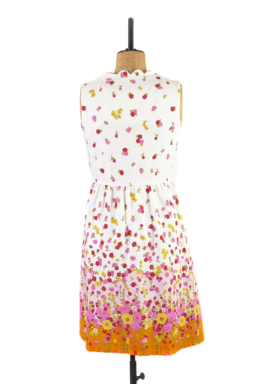Floral Day Dress c.1960