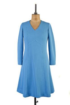 Peloponnese Blue Vintage Dress