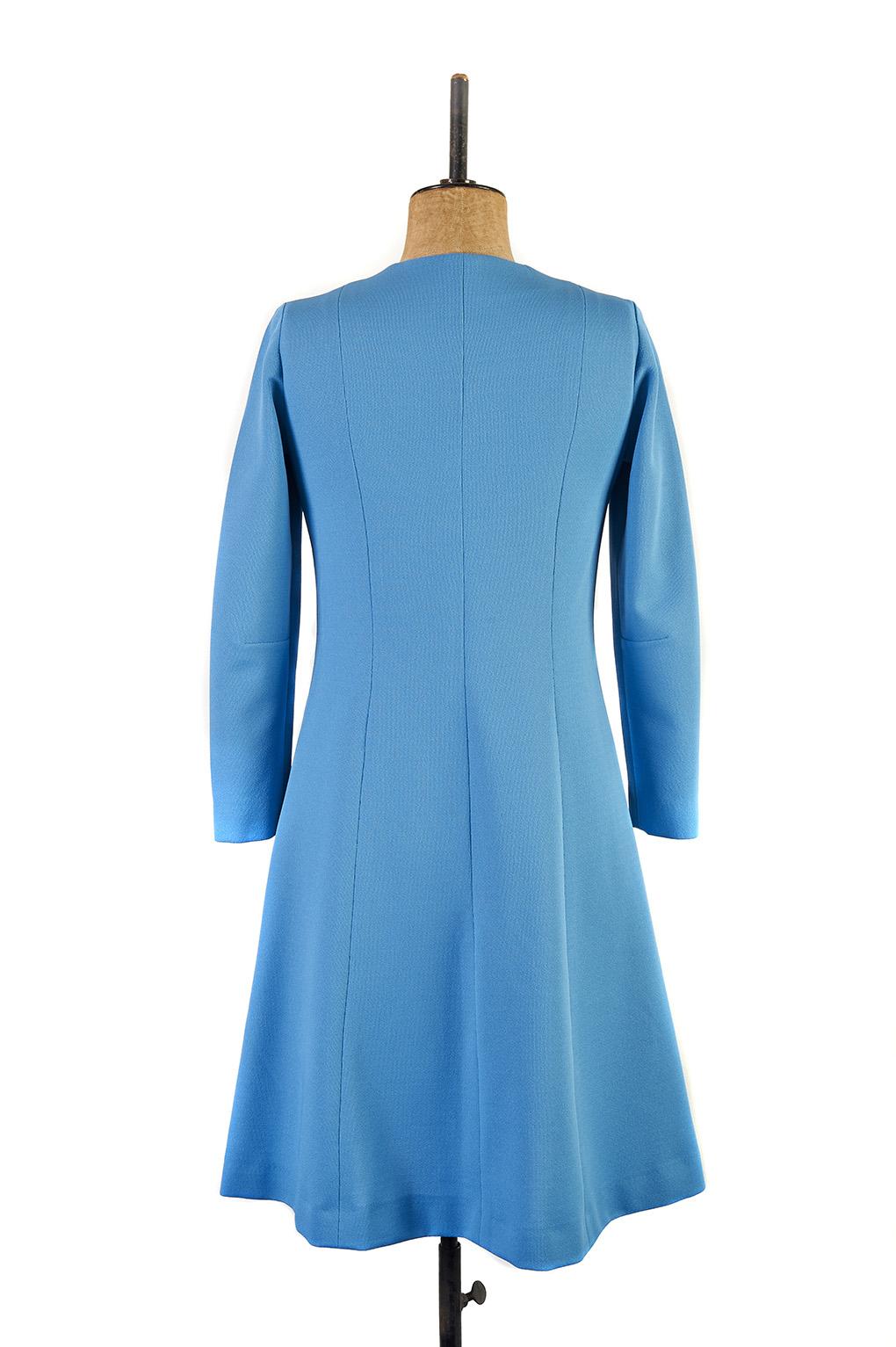 Blue Day Dress c.1970