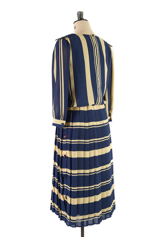 Nautical Flapper Dress by Gina Bacconi, Size 14