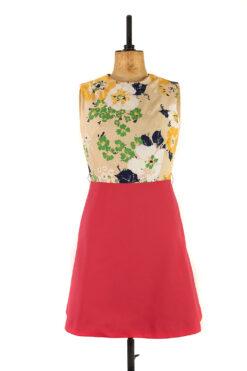 Bold Pink Vintage Dress, 1960s