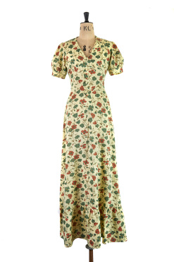 This romantic maxi dress from the 1970s