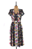 An eye catching tea dress, Size 12