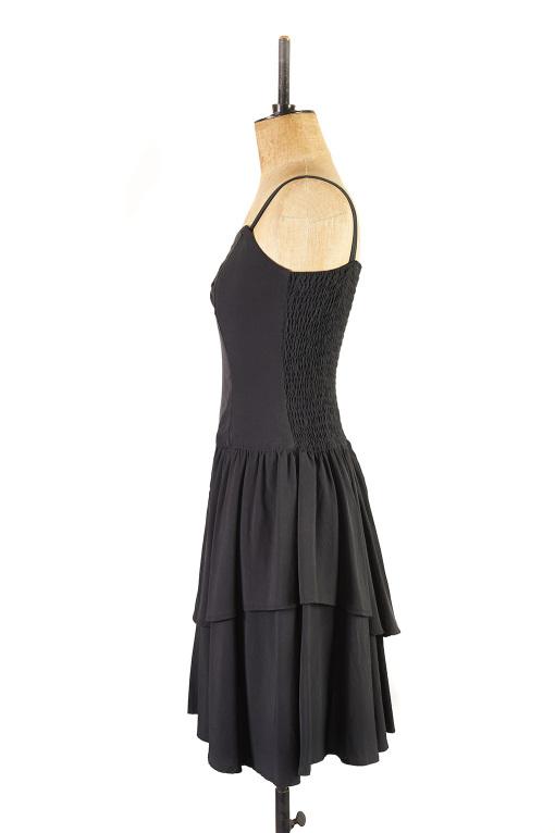 Black Cocktail Dress c.1980s