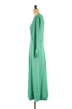 Emerald Hurrah! Green Maxi Dress by Margot & Hesse