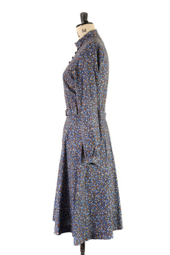 Blue Floral Dress by Margot and Hesse,