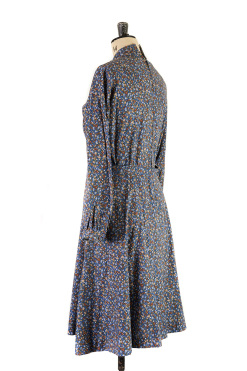 Blue Floral Dress by Margot and Hesse