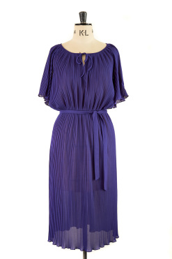 Purple vintage St Michael dress, Size 16