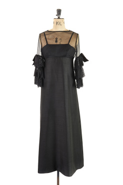 Jean Varon Black Evening Gown