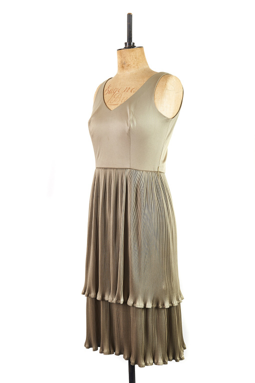 Green Gatsby by Carnegie of London c.1960, Size 14