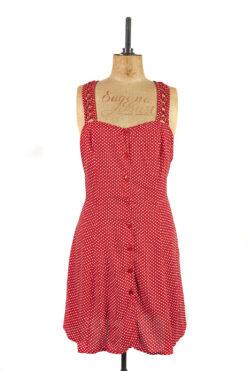 Pin Up Style 90s Slip Dress, Size 16