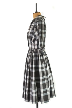 Vintage '50s Shirt Dress by Gigi Young