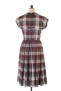 Tartan Dress c.1950