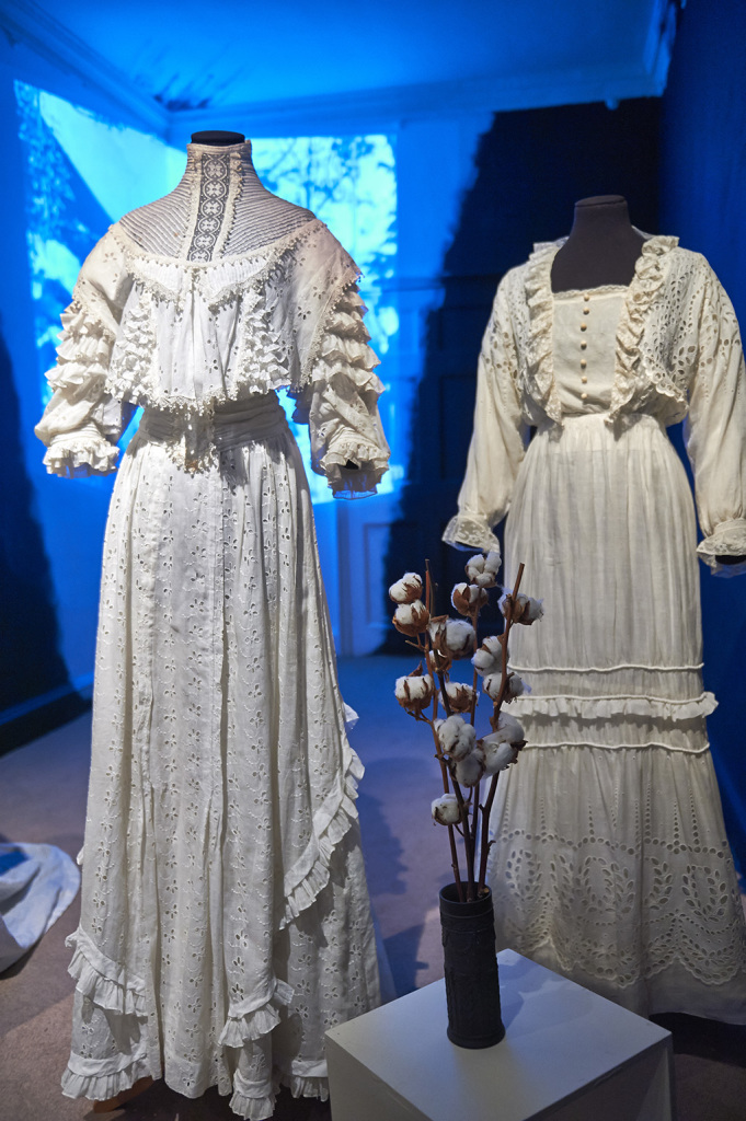 cotton wedding dresses from the 1920s  Vintage cotton wedding dress Margot and Hesse