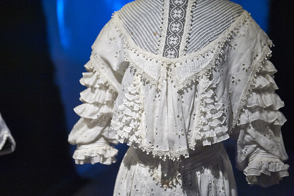 Cotton wedding dresses from the 1920s