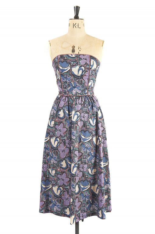Marion Donaldson Liberty Print Dress and Bolero New with Tags