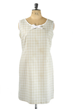 Cute 60s Shift Dress - Plus Size Vintage