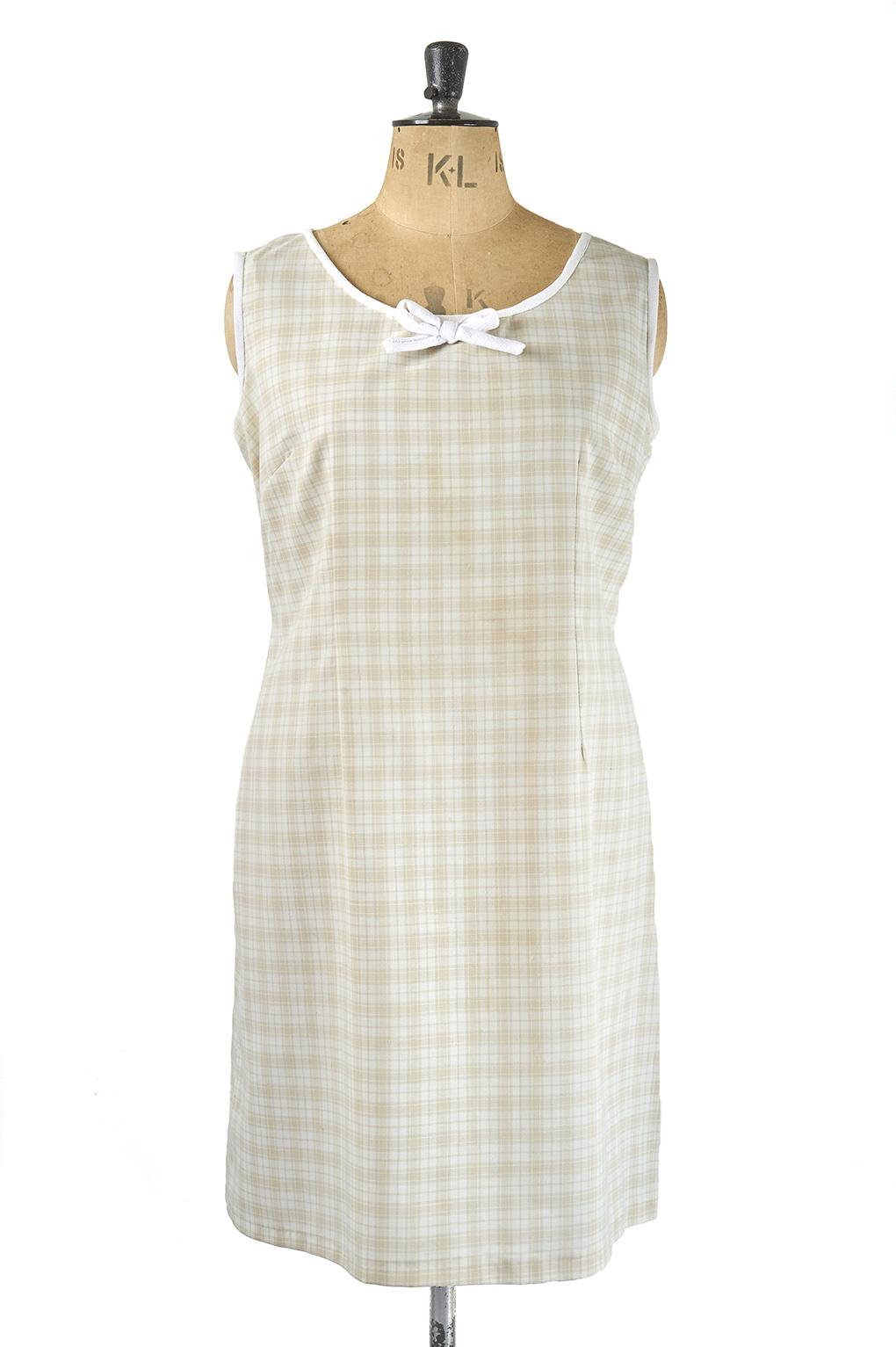 Cute 60s Shift Dress - Plus Size Vintage