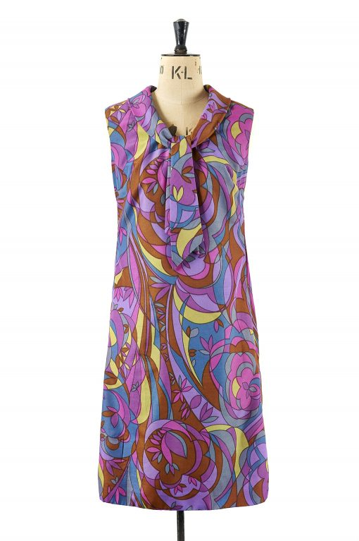 Psychedelic Dress by Cresta Size 8-10