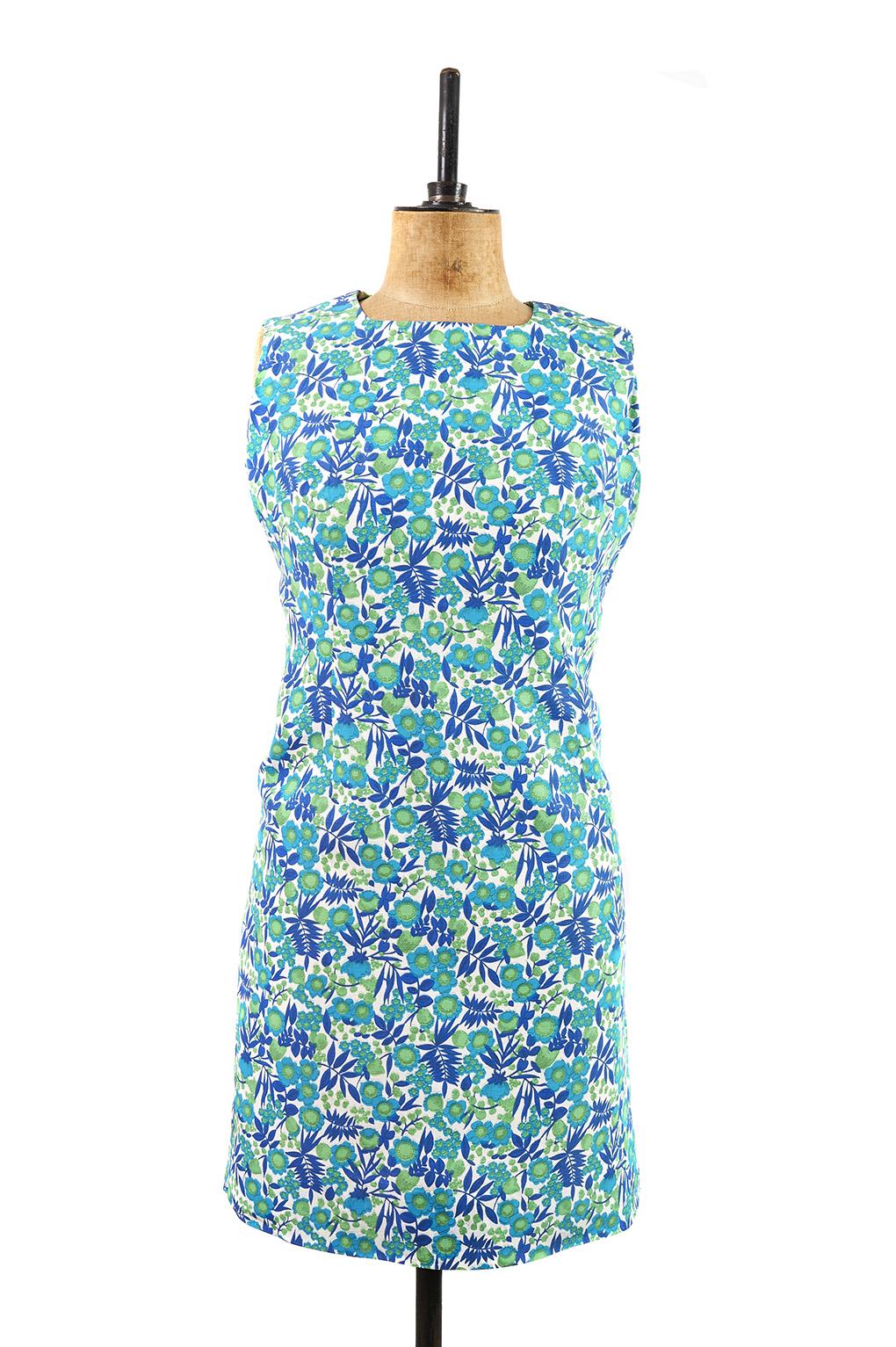 Bold Floral \'60s Shift Dress   Size 14 - Margot & Hesse