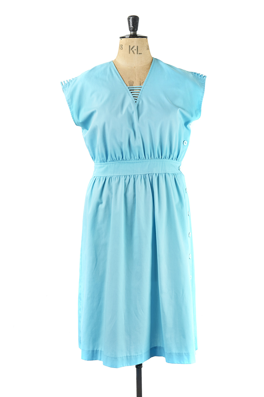 Size 18 Blue Vintage Dress, Margot & Hesse