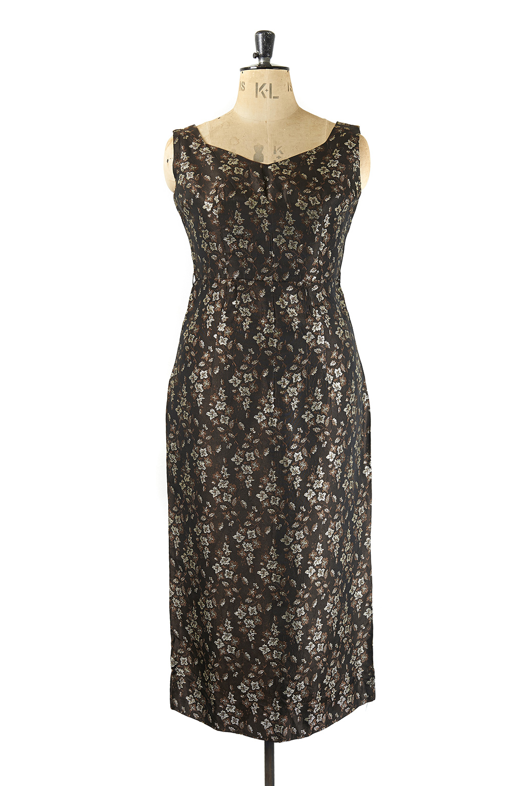 Vintage Wiggle Dress, 1950s - Size 16